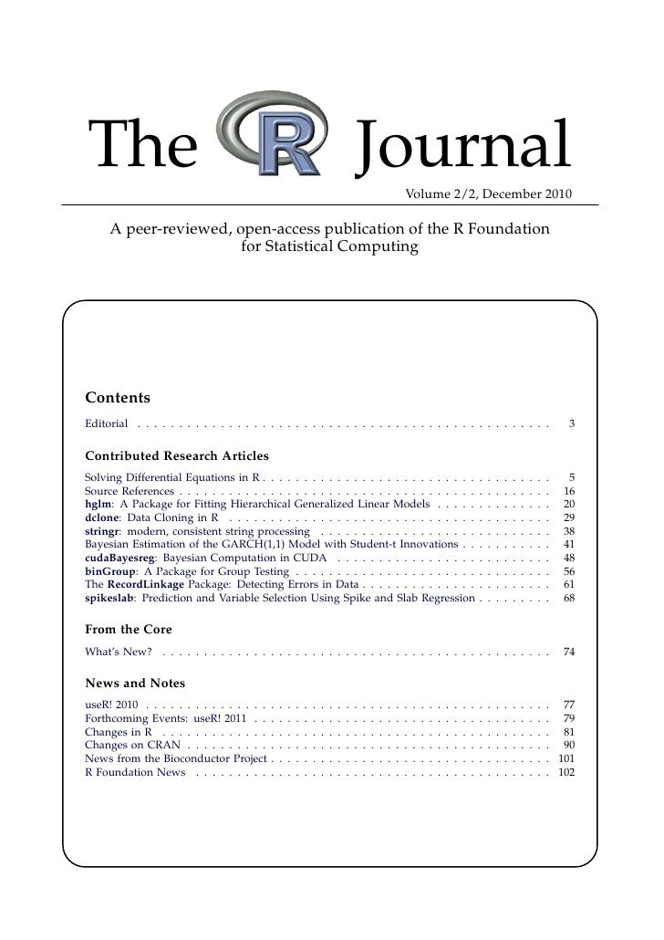 The                                                                                Journal                 Volume 2/2, Dec...