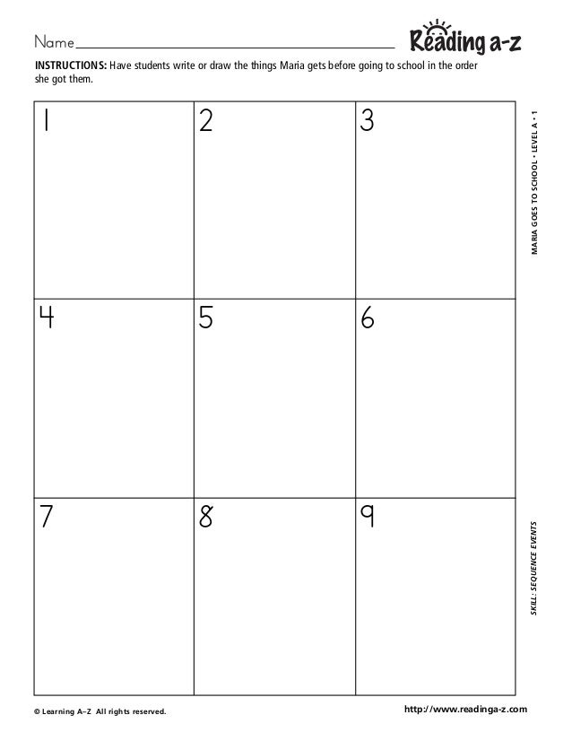 Rk 000154 Worksheet (4) Analytical Reading Inventory Name © Learning A\u2013z All Rights Reserved Mariagoestoschool\u2022levela\u20221skill