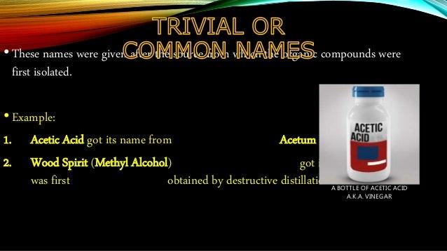Nomenclature of Carbon compounds Slide 2