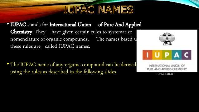 Nomenclature of Carbon compounds Slide 3