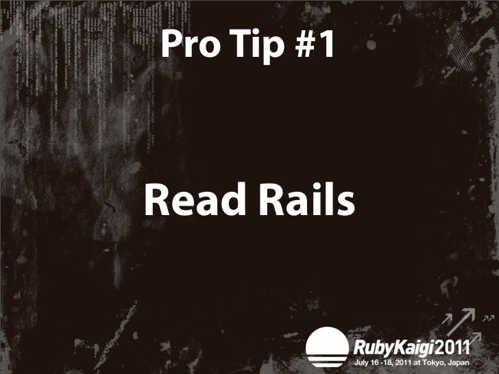 This will tell you:✴What Rails 3.2 / 4.0 will be like✴Who's actually creating Rails