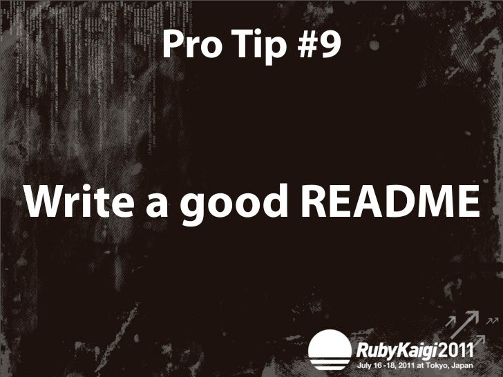 Pro Tip #11Write a book