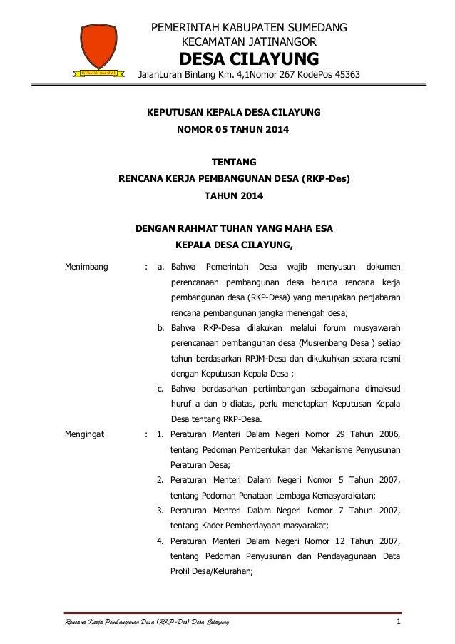 PEMERINTAH KABUPATEN SUMEDANG KECAMATAN JATINANGOR  DESA CILAYUNG  JalanLurah Bintang Km. 4,1Nomor 267 KodePos 45363  KEPU...