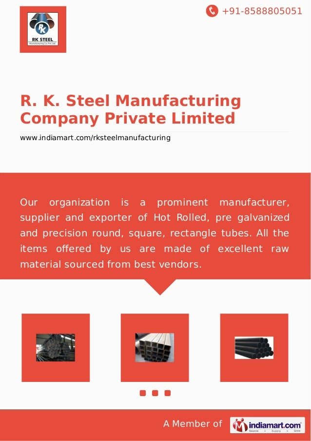 R  K  Steel Manufacturing Company Private Limited, Chennai