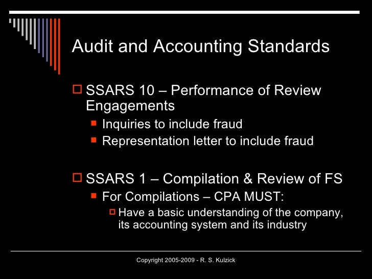 Fraud cases in auditing for Cpa review engagement letter