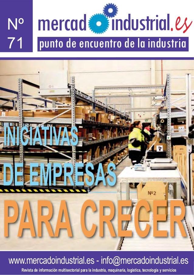 Nº          mercadl                                             ndustrial.es71 punto de encuentro de la industriaINICIATIV...