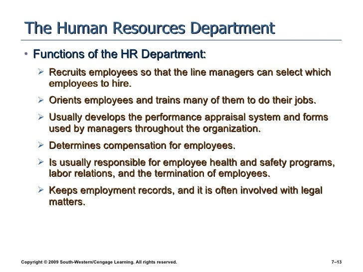 hr chapter 7 The human resources department is located on the second floor of the student service center on the washington street campus, in suite 280.