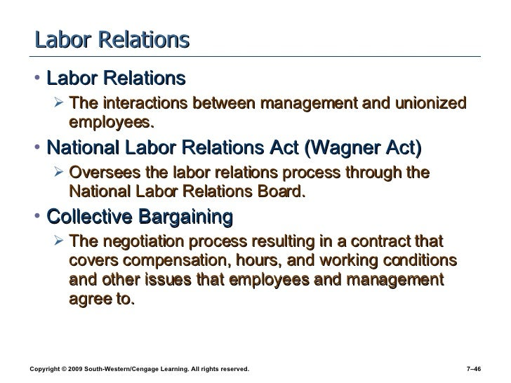 labor relations process For more comprehensive information on ucsd labor relations, the collective  bargaining process, agency fees and union dues, access rights,.