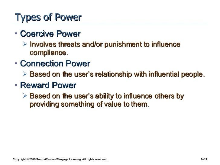 Chapter 8 - Organizational Behavior: Power, Politics, Conflict, and S…