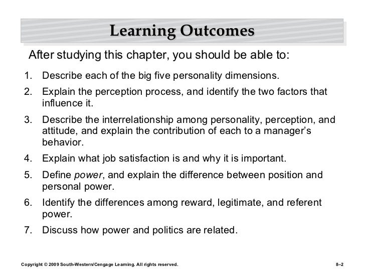 Other personality traits that affect managerial behaviour sociology essay