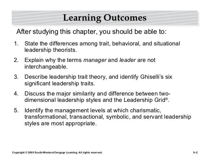 Chapter 9 Leading with Influence