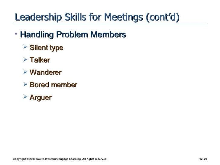 Chapter 12 Team Leadership