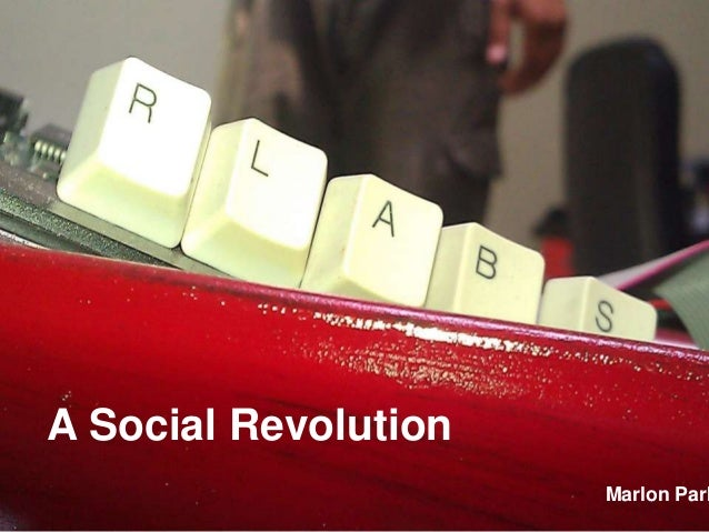 A Social Revolution                      Marlon Park