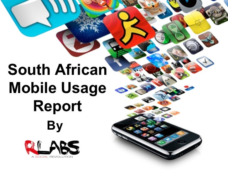 South African Mobile Usage Report By