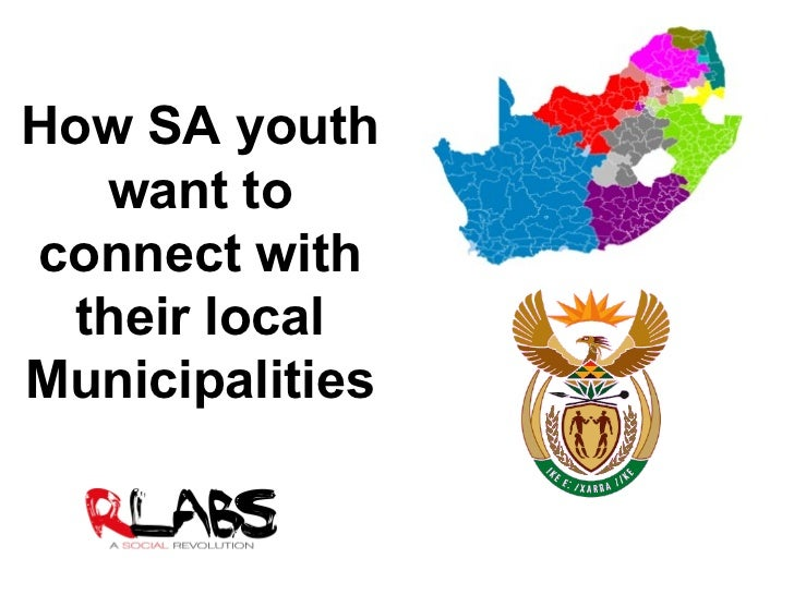 How SA youth want to connect with their local Municipalities