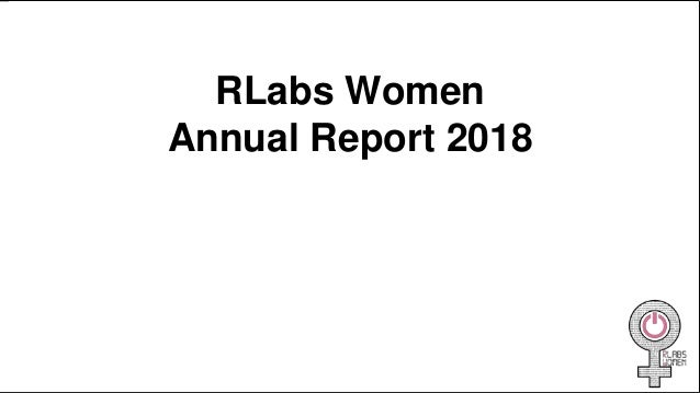 RLabs Women Annual Report 2018