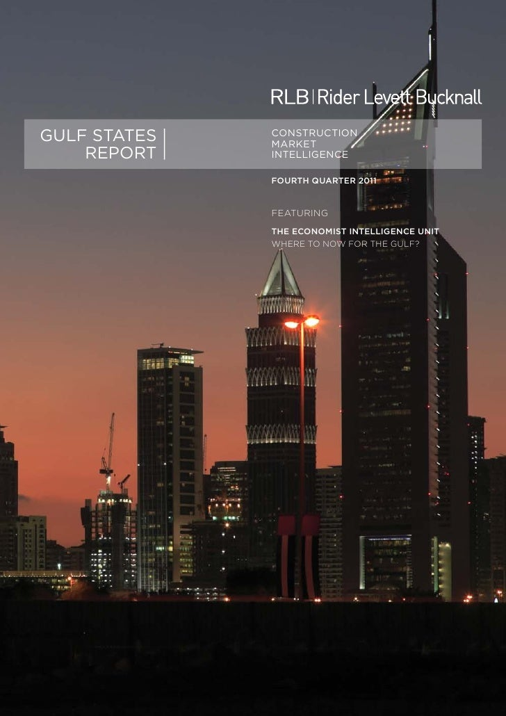GULF STATES   CONSTRUCTION              MARKET    REPORT    INTELLIGENCE              FOURTH QUARTER 2011              FEA...