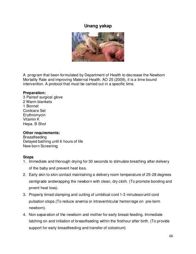 Essential Newborn Care, Unang Yakap Campaign