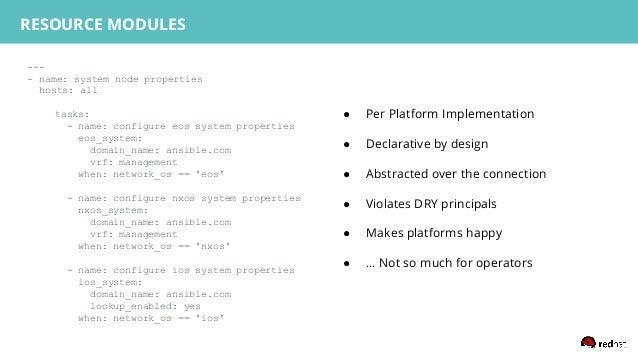 --- - name: system node properties hosts: all tasks: - name: configure eos system properties eos_system: domain_name: ansi...