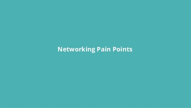 Networking Pain Points
