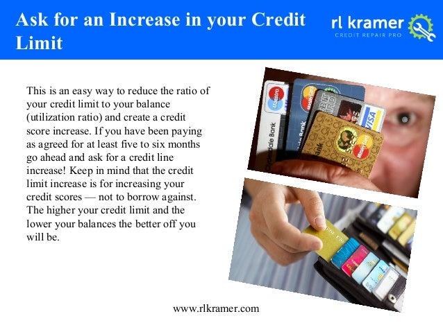 keep your credit card balances low 5