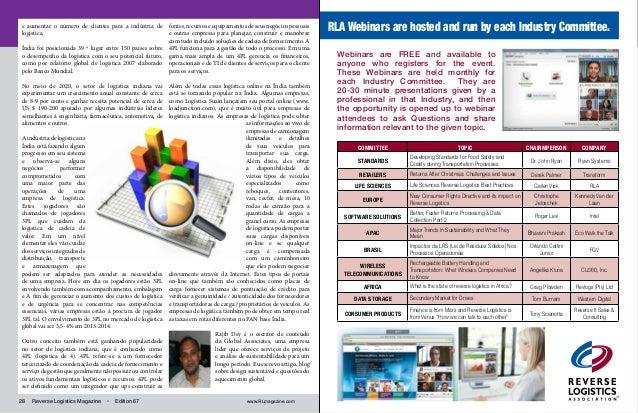 Revista Logística Reversa - Edição 67 - REDERESÍDUO - Inovação na Ges…