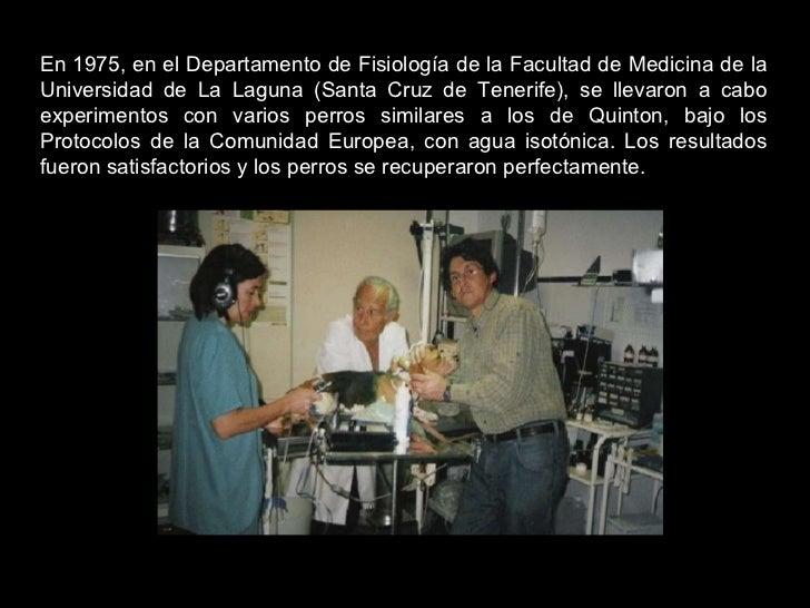 En 1975, en el Departamento de Fisiología de la Facultad de Medicina de la Universidad de La Laguna (Santa Cruz de Tenerif...