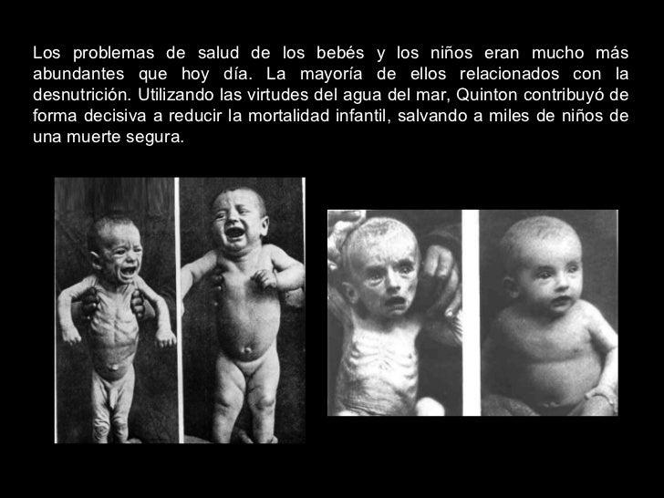 Los problemas de salud de los bebés y los niños eran mucho más abundantes que hoy día. La mayoría de ellos relacionados co...