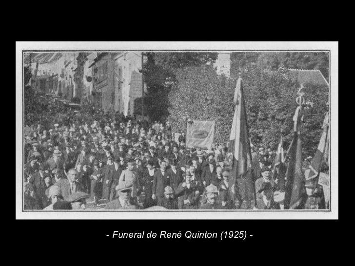 -  Funeral de René Quinton (1925)  -