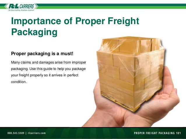 How to Package Freight 101 Slide 2