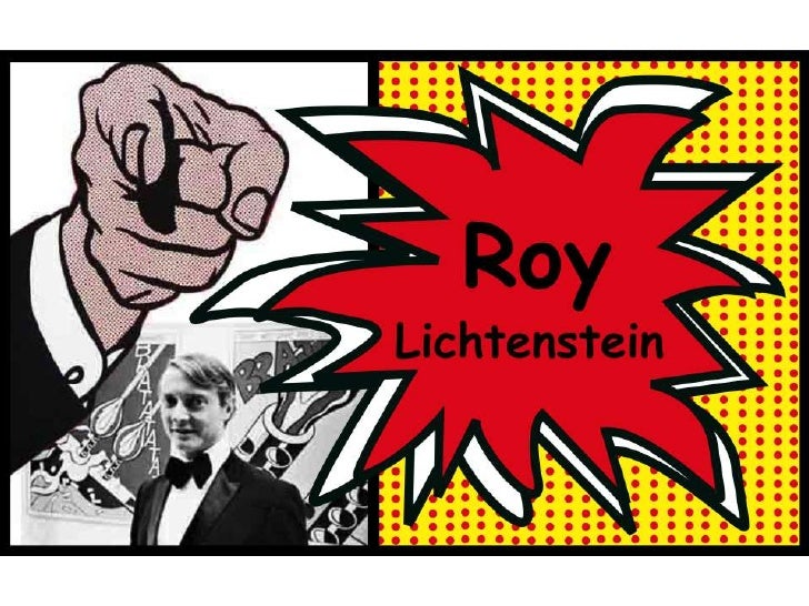 Roy Lichtenstein præsentation