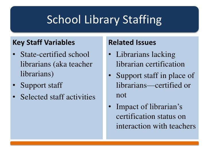 21st Century Learning and the Future of School Libraries