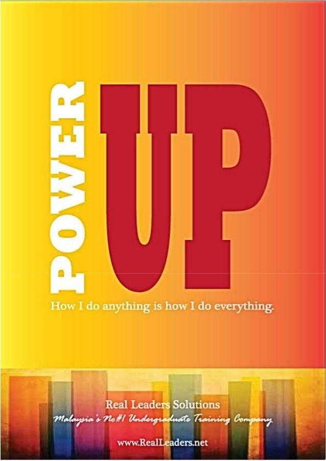 REAL Leaders Power Up Package