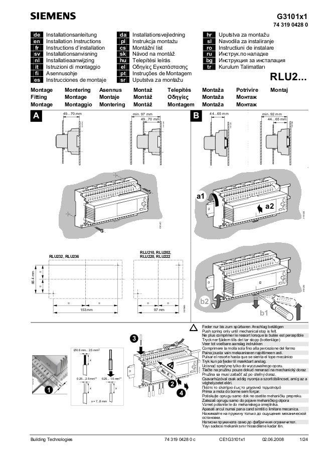 Rlu220 instructions d_installation_de_en_fr_it_es_pt_nl_sv