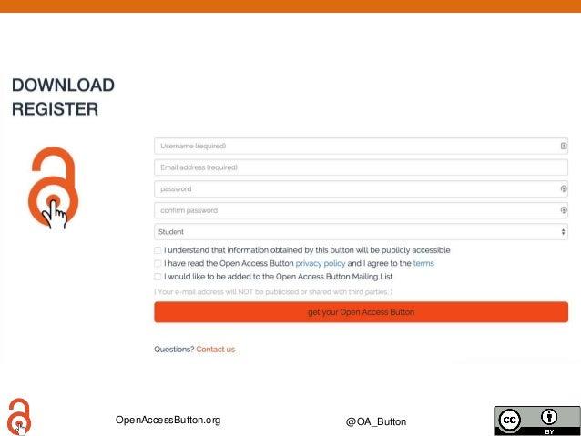 OpenAccessButton.org @OA_Button