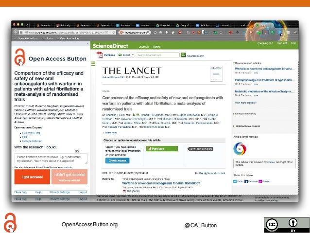OpenAccessButton.org @OA_Button Web Same image, circled button image