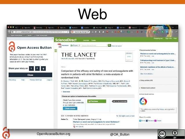 OpenAccessButton.org @OA_Button Web Story