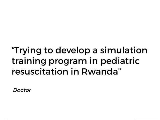 "OpenAccessButton.org @OA_Button ""Trying to develop a simulation training program in pediatric resuscitation in Rwanda"" Doc..."