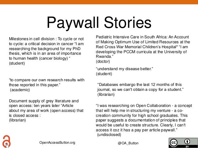 OpenAccessButton.org @OA_Button Paywall Stories Pediatric Intensive Care in South Africa: An Account of Making Optimum Use...