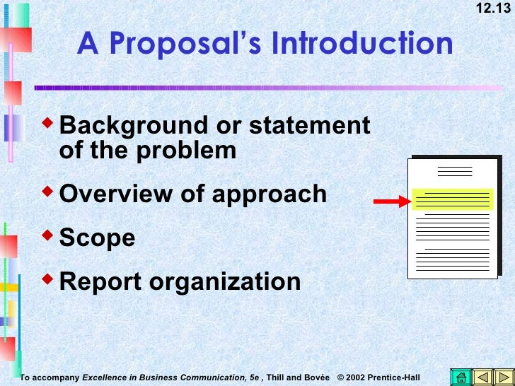 Chapter    Proposals and Formal Reports   ppt download
