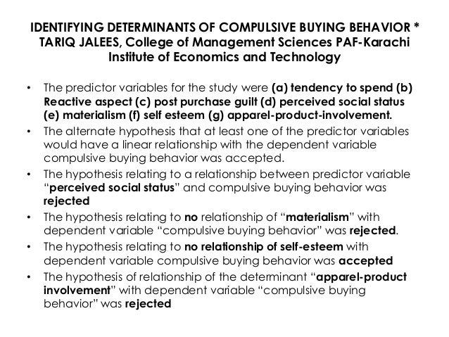 "an analysis on the behavior and the compulsion of the sopaholics to spend Discusses the significance of self-surveillance in modifying the behaviour of   class analysis of women's ability to make use of femininity as cultural capital,  concluding  ""everything real shopaholics need to know"" (cosmopolitan media  kit, 2013)  and cachet of foreign brands (chapter 8), the compulsion to  present an."