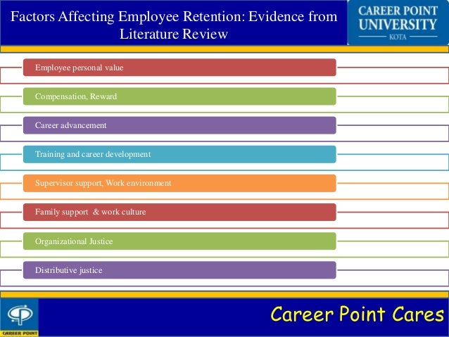 literature review on employee motivation and retention Does employee retention affect organizational hence employee retention has gained the attention as a major issue in literature review 21 employee retention.