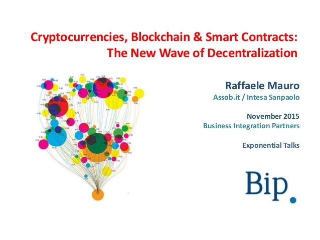 Are cryptocurrencies necessarily decentralized