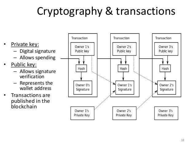Smart contracts in cryptocurrencies