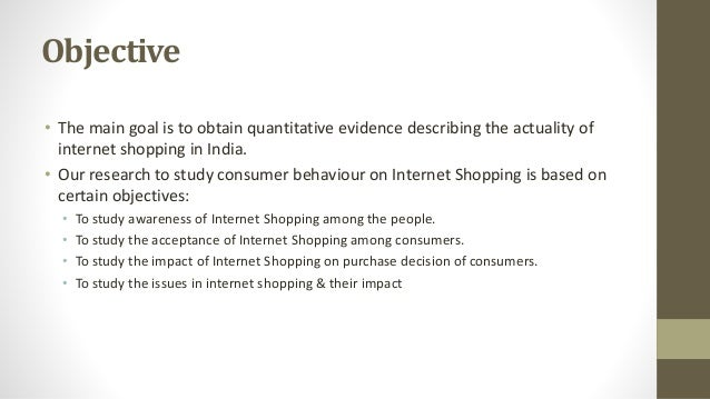 internet shopping impact on consumer behaviour To what extent the functionality of the infrastructure of the internet impact consumer purchase behaviour in nigeria consumers' attitude towards online shopping is a prominent factor affecting actual buying behaviour.