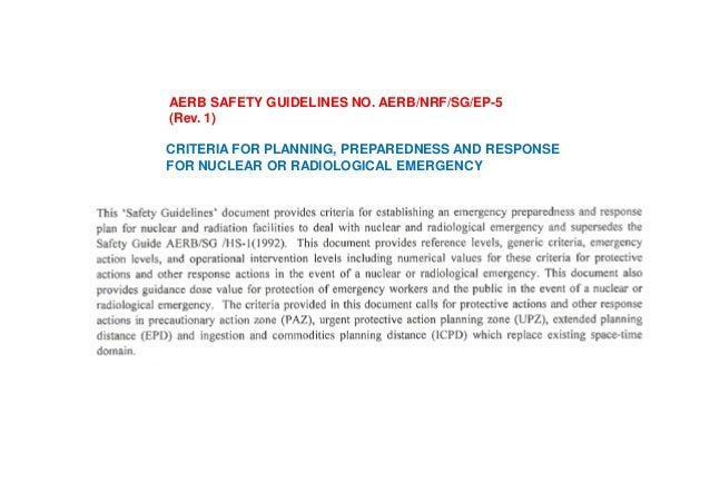 Avoidable radiation exposure arising from, for example: Accidents or incidents to be reported REPORT x-ray equipment compo...
