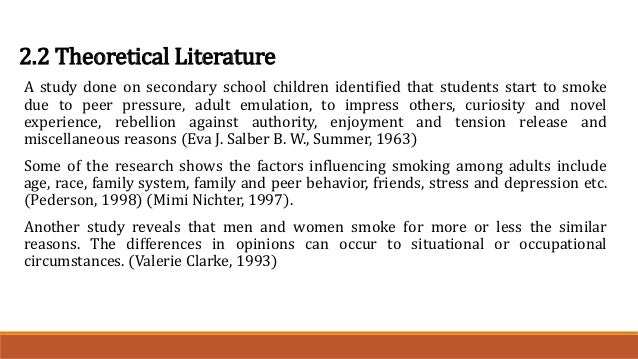 an introduction to the issue of cigarette smoking among young adults The impact of standardized cigarette packaging among young women in canada: a discrete choice experiment by kathy kotnowski a.