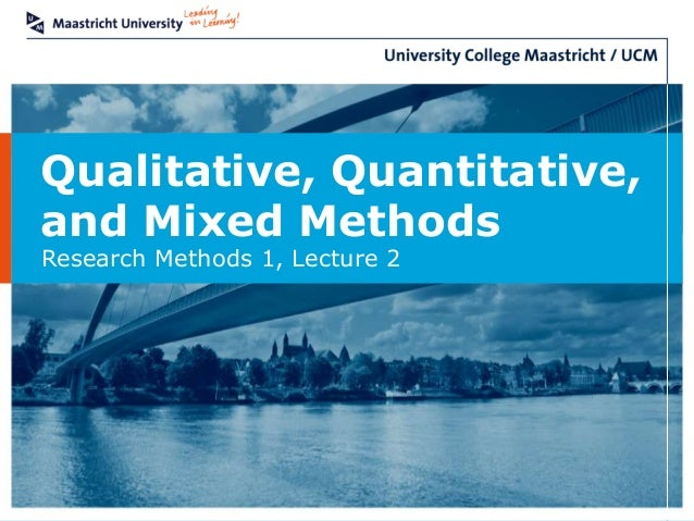 Research methods qualitative and quantitative approaches