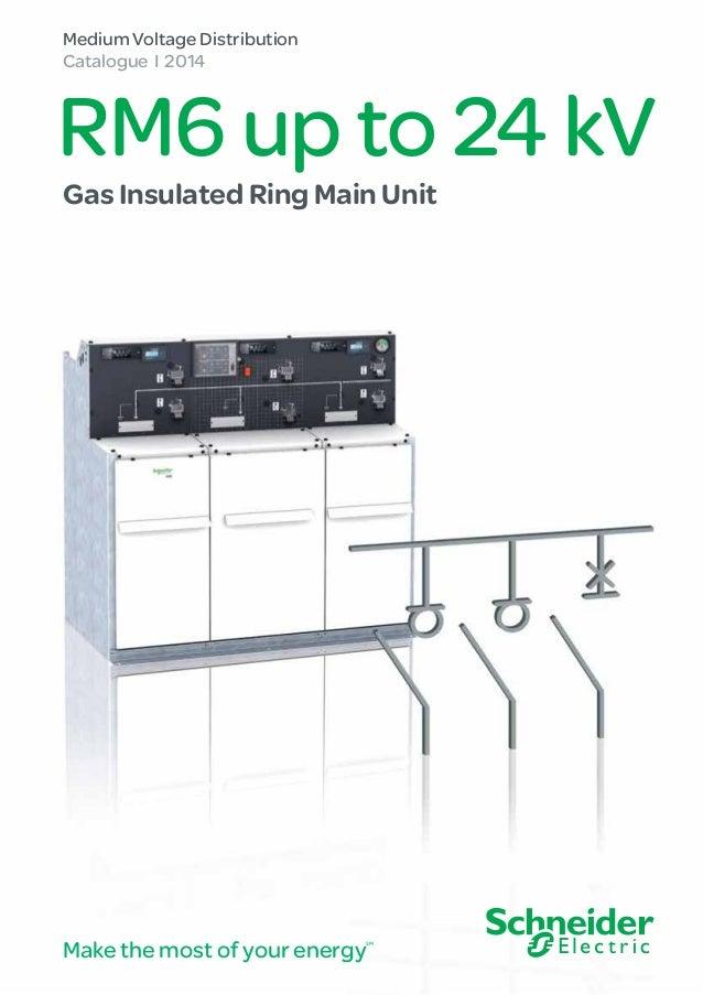 schneider rm6 mv medium voltage compact switchboard ring main unit rh slideshare net ring main unit block diagram 11kv ring main unit circuit diagram