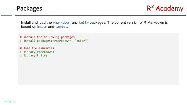 R Markdown Tutorial For Beginners